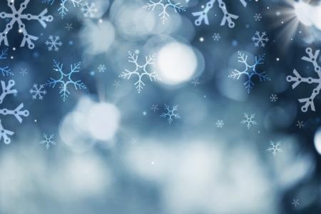 Vacances d'hiver Neige Fond abstrait de Noël Toile de fond Banque d'images - 22997368