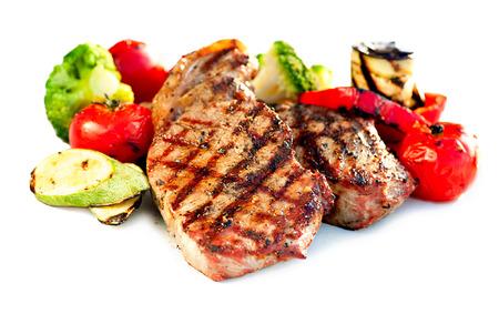 Grilled Beef Steak Carne con verduras