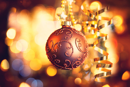 Christmas and New Year Decorations photo
