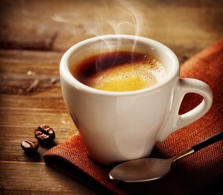 コーヒー エスプレッソ コーヒー 1 杯 写真素材