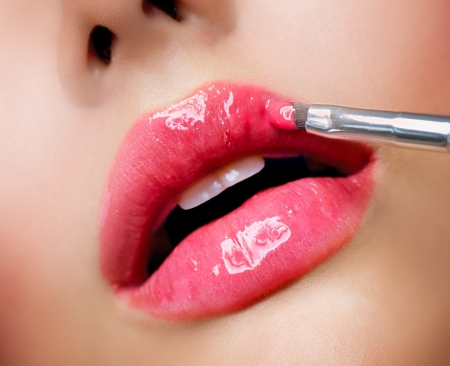 Professional Make-up  Lipgloss  Lipstick photo