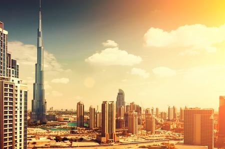 Centro di Dubai, Emirati Arabi Uniti Archivio Fotografico - 27093531