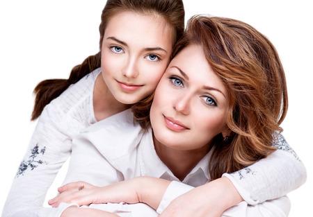 어머니의: 어머니와 그녀의 딸의 초상화