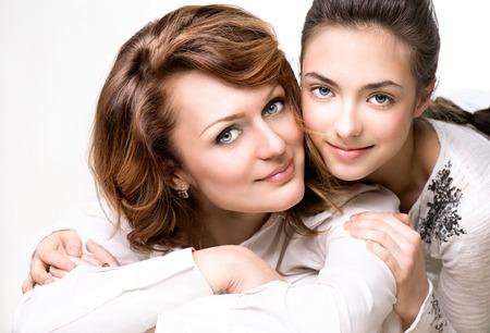 Madre e figlia teenager