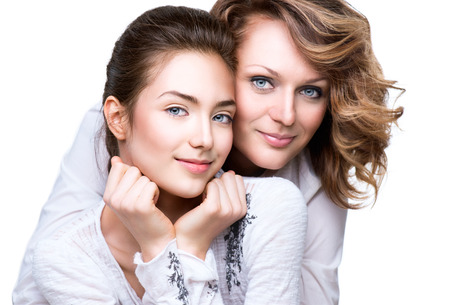 Mother and Teen Daughter photo
