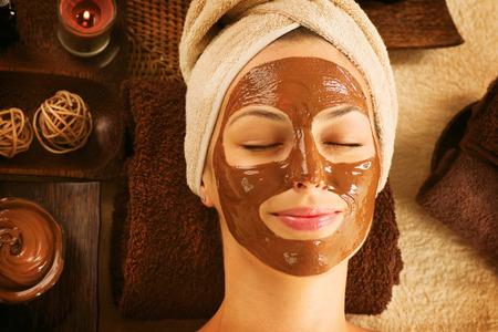 antifaz: Spa de lujo del chocolate máscara facial Día Tratamiento Spa