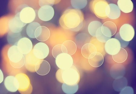 star light: Christmas background. Vintage styled holiday abstract bokeh