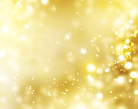 gold decorations: Fondo de oro de la Navidad. D�a de fiesta de oro Fondo brillante