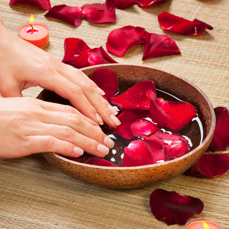 Aromatherapy. Essence oil. Spa treatment photo
