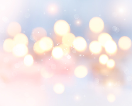 Holiday abstract glowing blurred background, bokeh Stock Photo