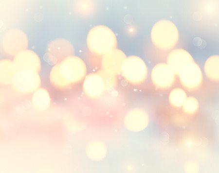 Holiday abstract glowing blurred background, bokeh photo