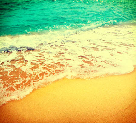 heaven background: Beautiful sea summer abstract background. Tourism and vacation concept
