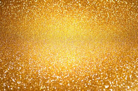 blinking: Golden abstract background with blinking stars