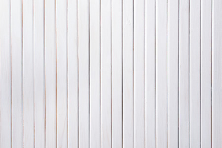 wood texture: White wooden background. Planks of painted wood Stock Photo