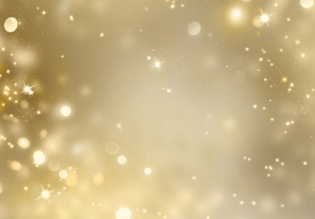 festive: Abstract golden holiday glowing background Stock Photo