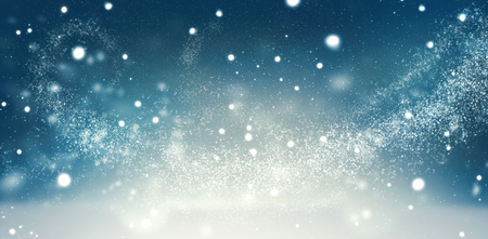 glint: Beautiful Christmas winter holiday snow background
