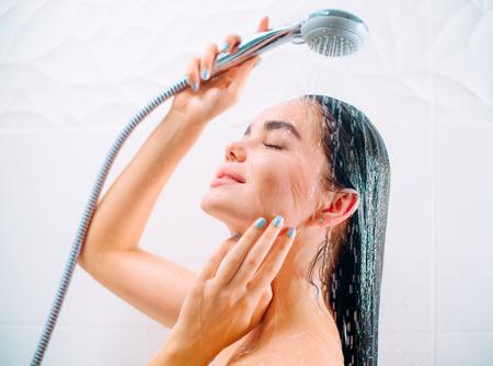 Sexy girl take shower