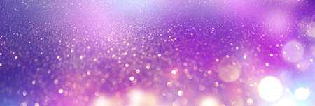 Beautiful blinking glowing background, abstract soft blurred colorful gradient backdrop. Bokeh.  Pink, blue, violet colors Holiday wallpaper, Colorful art design