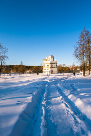 The Hermitage of the 17th century, built for Patriarch Nikon next to the New Jerusalem Monastery. Istra, Moscow suburbs, Russia.