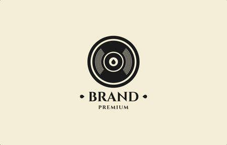 Bullet Head Stamp Logo Vector Design Template suitable for vintage brand