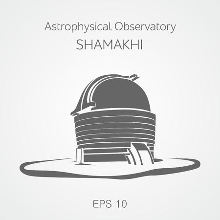 astrophysical: Astrophysical observatory Shamakhi. Azerbaijan.