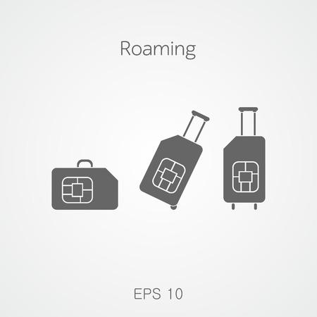 Travel SIM. Roaming.