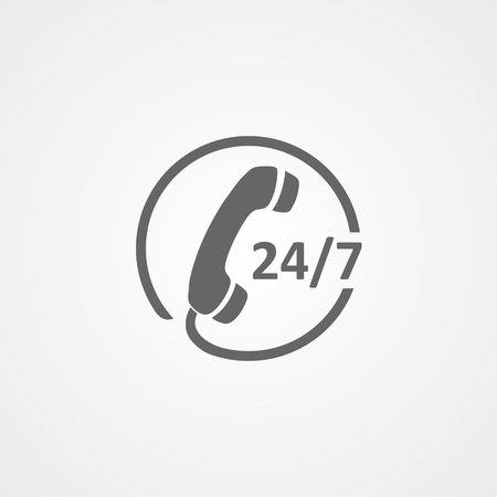 Customer care flat vector icon. Call center. Customer service. Phone.