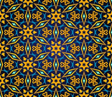 medallion: Eastern seamless pattern. Medallion texture background.