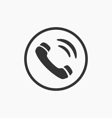 old cell phone: Phone icon vector illustration. Illustration