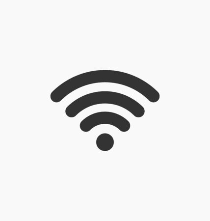 connection connections: Wifi icon vector. Illustration
