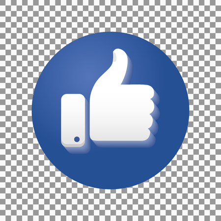 good friends: Thumb up symbol, finger up icon vector illustration.