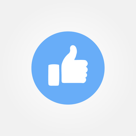 Baku, Azerbaijan - April 14, 2017: Facebook new like button. Emoji. Editorial image.