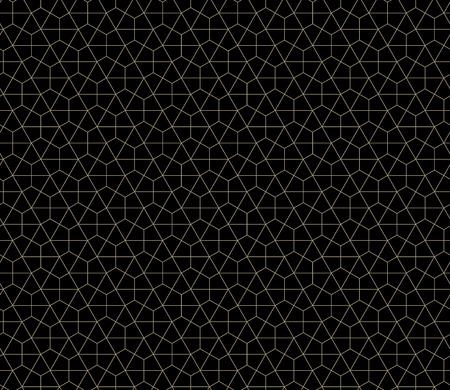 Seamless geometric pattern simple flat vector illustration. Ilustração