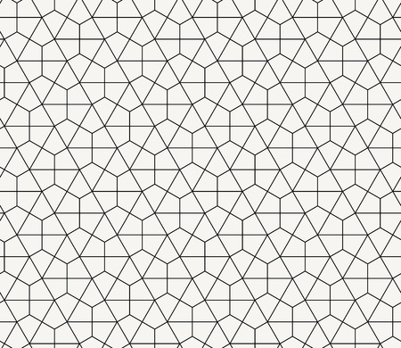 Seamless geometric pattern simple flat vector illustration. Ilustração