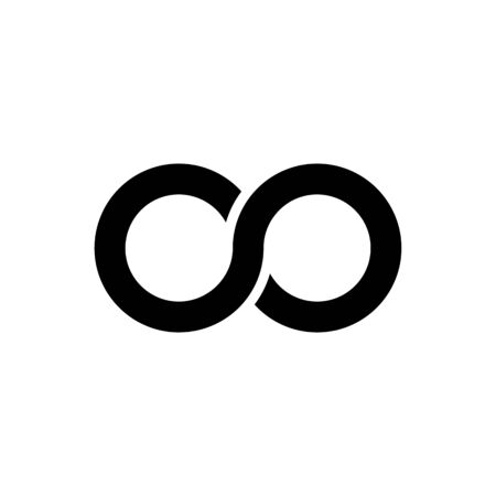 Infinity symbol icons vector illustration. Unlimited, limitless symbol, sign. Imagens - 130565821