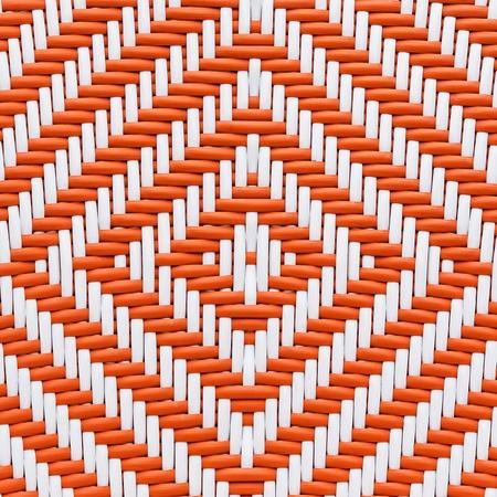 interlace: handcraft weave texture natural bamboo