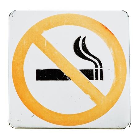 discontinue: No Smoking Sign old