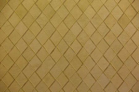 Woven golden leather photo