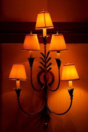elegant crystal chandelier Stock Photo - 22582127