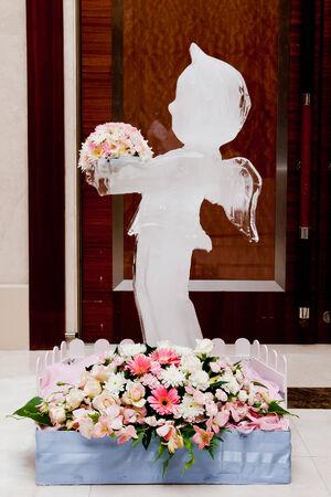 wedlock: Ice Sculpture at Wedding