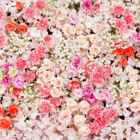 Beautiful flowers background for wedding scene Zdjęcie Seryjne