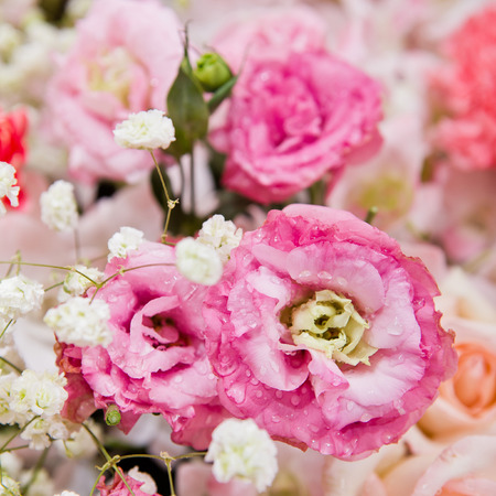 Beautiful flowers background for wedding scene Stock Photo - 36086563