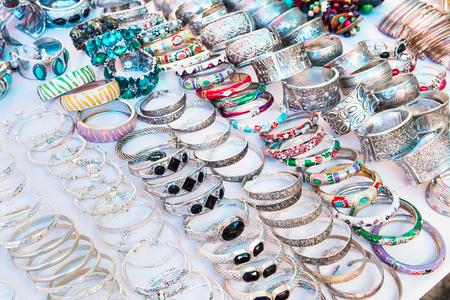 frippery: Beautiful expensive gold bracelets  Bracelets on white cloth background