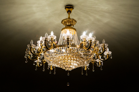 crystal chandelier: elegant crystal chandelier
