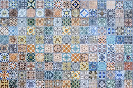 azulejos de cerámica patrones de Tailandia