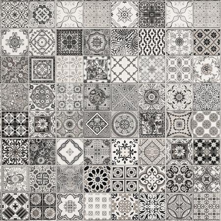 ポルトガルからセラミック タイル パターン。