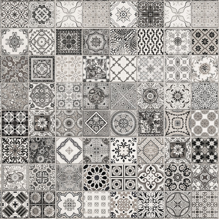 ceramic: ceramic tiles patterns from Portugal.