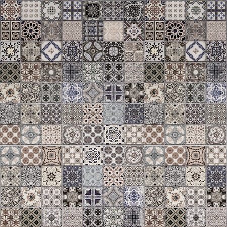 azulejos: Ceramic tiles patterns from Portugal