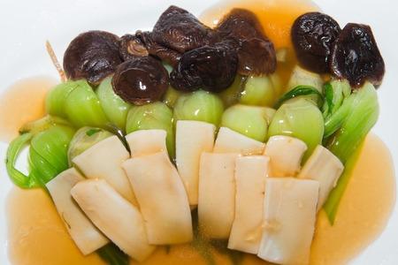 bok choy: Stir Fried Bok Choy with Mushroom