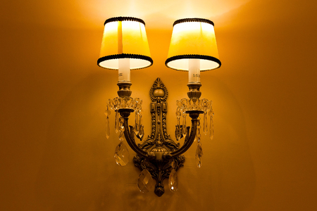electric fixture: Pathway or wall light for modern design building or house